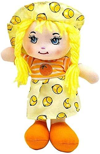 ADIE Plüschtier Teddy Toys Cartoon Geburtstagsgeschenke Früchte Rock Hut Rag Spielzeug Rag Puppen für vorgetäuschtes Spiel Mädchen Geburtstag 25cm Und Unterhaltung Spielzeug NAV