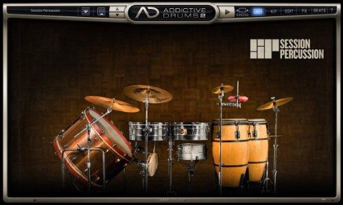 XLN Audio Session Percussion Addictive Drums 2 専用拡張音源