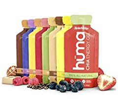 100% ALL-NATURAL SPORTS NUTRITION – Fruit Puree. Powdered Chia Seeds. Brown Rice Syrup. You don't need a PhD to pronounce the ingredients in Hüma products. Gluten Free, Dairy Free, Vegan Friendly. HAPPY STOMACHS – Give your stomach REAL FOOD it can e...