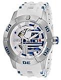 Invicta 26553 Star Wars - R2-D2 Reloj para Hombre acero inoxidable Automático Esfera blanco