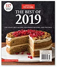 America's Test Kitchen Magazine The Best of 2019 The Year's Best Recipes, Equipment Reviews, and Tastings