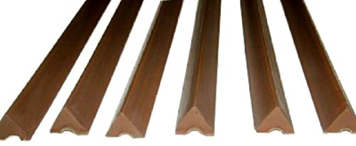 Ozone Billiards K66 Rubber Bumpers Pool Table Rail Cushions (Set of 6) - 8 Foot