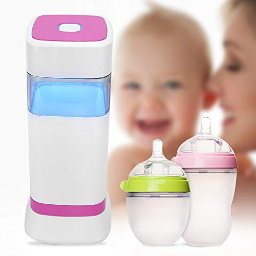 Purchase Jadpes Baby Bottle Cleaner, Portable Baby Bottle Sterilizer Kids Nursing Bottle Disinfectio...