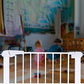 ZZRS Barrières pour Chiens Bébé Barrière de sécurité, sans Punch-Rampe d'escalier, cartérisations Chiot for Animaux, Chien Porte, for Doorways Escaliers décoratifs for Animaux Barrière