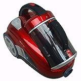 WYFCHDQ sans Sac cyclonique Vide, 2600W Haute Puissance aspirateur ménager Vertical, Convient pour Les Animaux escaliers Chambre, Filaire
