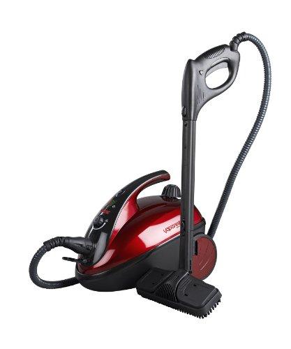 Polti Vaporetto Comfort Steam Cleaner, Black/Red