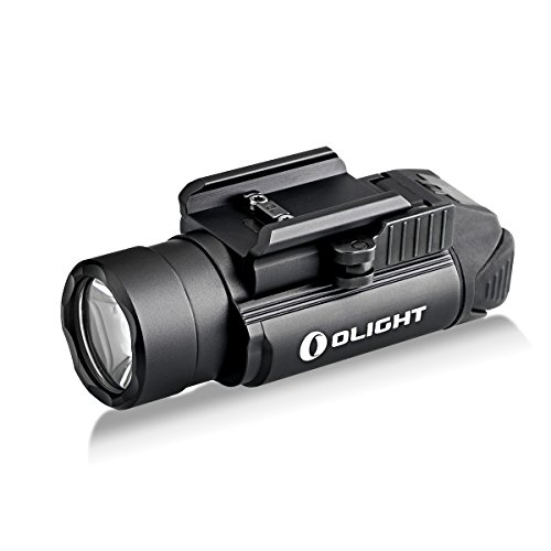 OLIGHT PL-2, PL2, PL II Valkyrie 1200 Lumen Rail Mounted Compact Weaponlight with 2 x CR123A Batteries