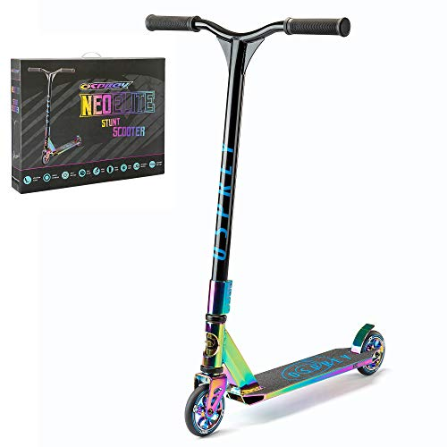 Osprey Unisex-Adult OSP NEO-Elite Stunt Scooter - Multi, Neochrome, One Size