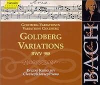 Bach: Goldberg Variations BWV 988 (Edition Bachakademie Vol 112) /Koroliov (piano) by JOHANN SEBASTIAN BACH (1999-10-19)