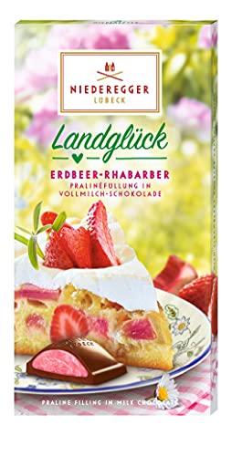 Niederegger Praliné-Tafel Erdbeer-Rhabarber, 100 g