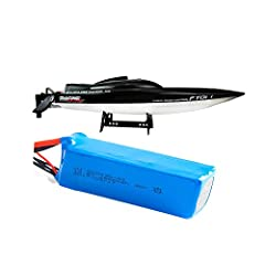 The battery replacement spare part will fit your car or boat ,as long as the voltage and port is same. Large capacity of the rc remote control boat lithium battery for FT010 FT011 Brushless Boat. Universal battery of rc remote control racing high spe...