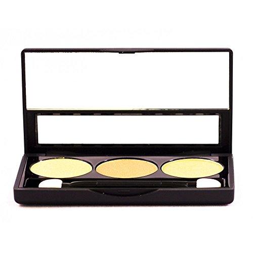 NYX Cosmetics - Trío de Sombras - perla amarillo/oro antiguo/oro