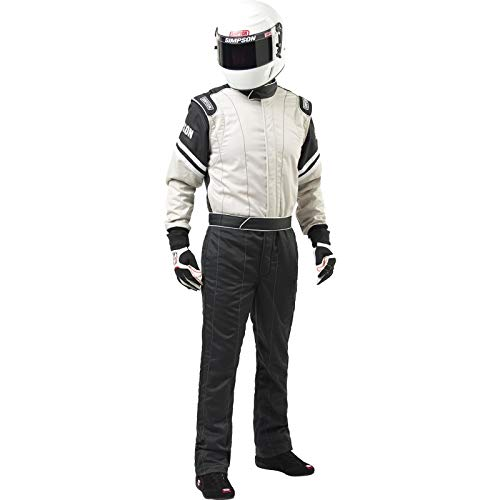 Simpson L205371 Legend II Suit, Gray/Black, Large