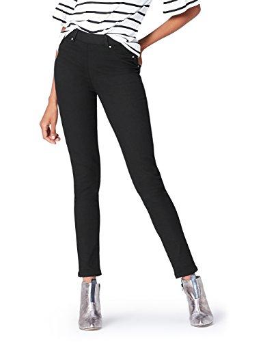 Marque Amazon - find. Jegging Femme, Noir (Black), 32W / 32L, Label: 32W / 32L
