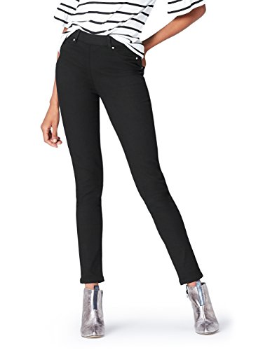 find. Jeans Skinny Donna, Nero (Black), 28W / 32L, Label: 28W / 32L