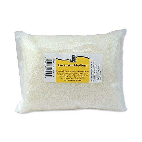 Jacquard, 1 lb. Bag Encaustic Medium Wax, None