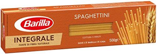 Barilla - Spaghettini N.3, Pasta Di Semola Integrale Di Grano Duro - 5 pezzi da 500 g [2500 g]