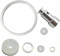 Pressure Cooker Gaskets Silicone Sealing Rings and Universal Replacement Floater and Sealer for 5 or 6 Quart Models -Set of 7