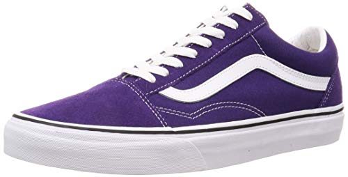 Vans Unisex Old Skool Skate Shoe Adults (10 Women/8.5 Men M US, Violet Indigo 7433)