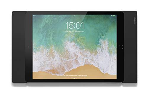 Smart things s32 b sDock Fix A10 Negro - Soporte de Pared con Cerradura y Base de Carga para Apple iPad 10,2' (2019+2020), iPad Pro 10,5' (2017), iPad Air 10,5' (2019)