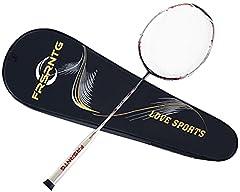 FRSRNTG badmintonschläger Ultraleicht Profi Carbon