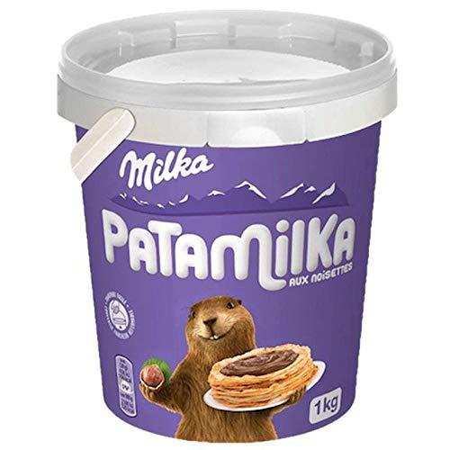 Milka Patamilka 1kg Eimer Brotaufstrich Schokolade Original aus Frankreich MHD 01/2021