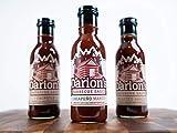Darion's Barbecue Sauce - 6-Pack Vegan, Organic BBQ Variety Set for Dressing, Cooking, Grilling Roasted Meats - Tasty Burger & Steak Sauce - Jalapeno Mango, Roasted Garlic, Chipotle - 14oz Bottles