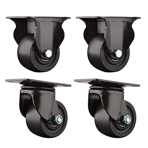 Casters Niedriges Schwerpunktrad/Nylon-Universalrad, Schwerer Lenker, Verschleißfest Und Komprimierend, Lager 500 Kg / 4, Nicht Leicht Zu Verformen, EIN Viererpack.