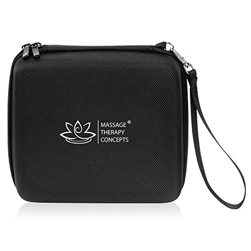 EVA Universal Hard Travel Case Organizer for Accessories and Small Electronics, TENS and EMS Units, Passport and Documents, Chargers and Cords, Carrying Bag for Diabetic Supplies or Medication