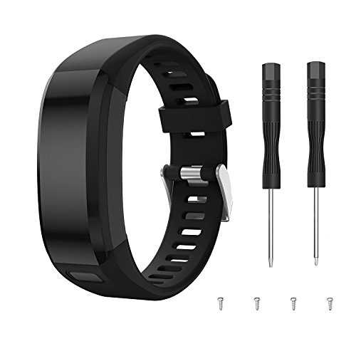 Garmin Vivosmart HR Activity Tracker correa de reloj de repuesto, accesorios correa de reloj de silicona