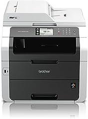 Brother MFC-9332CDW Multifonction 4-en-1 couleur compacte (impression, numérisation, copie, fax, A4, 22 pages/min., 2400×600 dpi, LAN, WLAN, impression duplex, ADF, AirBag pour 150.000 pages)
