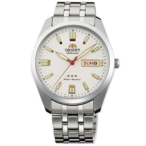 Orient Reloj Analógico para Unisex Adultos de Automático con Correa en Acero Inoxidable RA-AB0020S19B