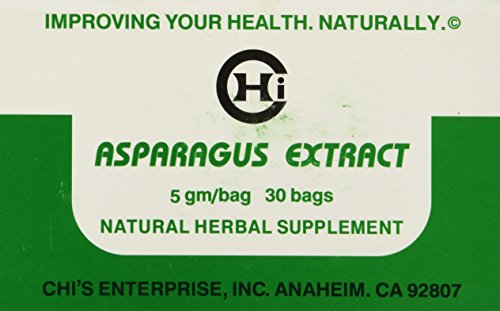 Asparagus Extract Tea by Chis Enterprise 5 gm per bag, 30 bags