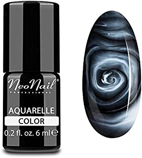 neonail híbrida Manicura UV LED Uñas Gel Polish Soak Off Aquarelle blanco uñas arte 6ml