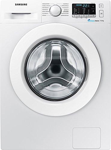 Samsung WW70J5585MW/EG Waschmaschine Frontlader / 7kg / Automatikprogramme / SchaumAktiv-Technologie...