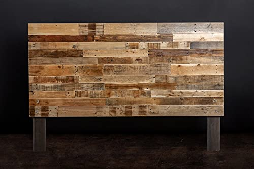 Cabecero de paletes - Cabezal Rustico - Respaldo para Cama con palets (Madera, 160 x 110 x 6 cm)