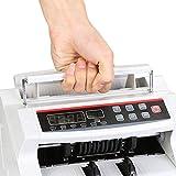 BuoQua Euro Geldzählmaschine mit Echtheitprüfung Banknotenzähler mit UV- und MG-Systeme Geldscheinzähler mit LED Display für Euro Doller Pound - 4