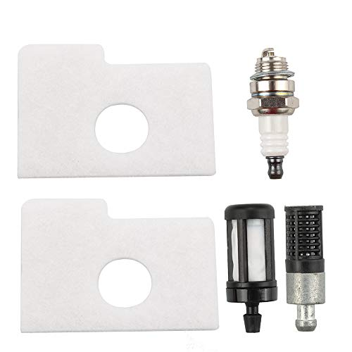 Kizut MS 170 Air Filter for Stihl 017 018 MS170 MS180 Chainsaw 1130 124 0800 with Fuel Filter Oil Filter Spark Plug Parts