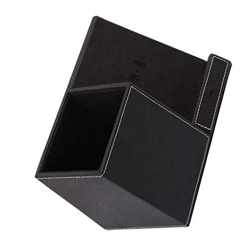3 in 1 mobiele telefoon draadloze oplader mobiele telefoon staan pen potlood houder thuiskantoor desktop organisator