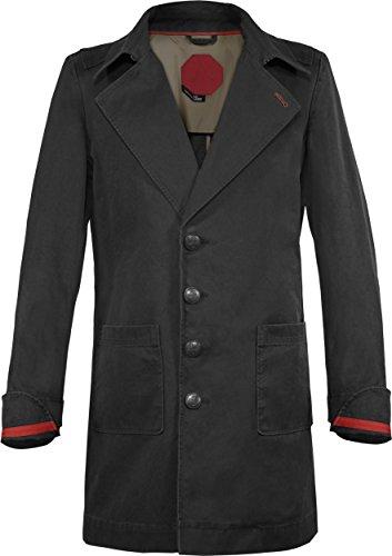 Musterbrand Assassin's Creed Trench-Coat Mantel Herren Cormac Jacke Schwarz XS