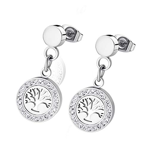 Boucles d'oreilles Lotus Collection Bliss Arbre de vie