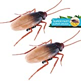 Robo Alive Scuttling Cockroach Battery-Powered Robotic Toy (2 Pack) (Custom...