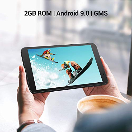 vankyo S8 Tablet 8 Zoll Android Tablet, 2GB RAM, 32 GB ROM, Quad Core, Android 9, 5Mp & 2MP Kamera, IPS HD (1280 x 800), Google GMS zertifiziertes