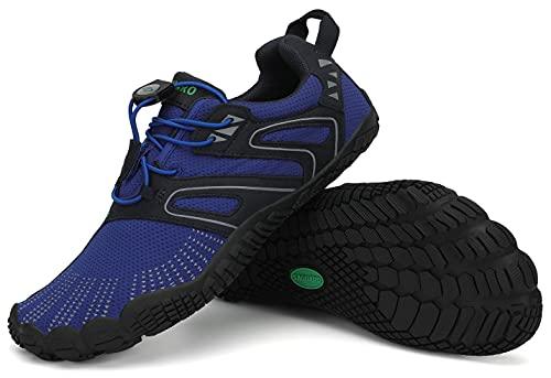 SAGUARO Zapatillas de senderismo para hombre y mujer, minimalistas, para deportes acuáticos al aire libre, tallas 36-48, color Turquesa, talla 43 EU