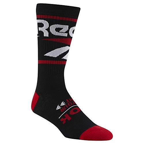 Reebok Socks CL Vector Crew Black Red Größe: 5-6 Farbe: Black