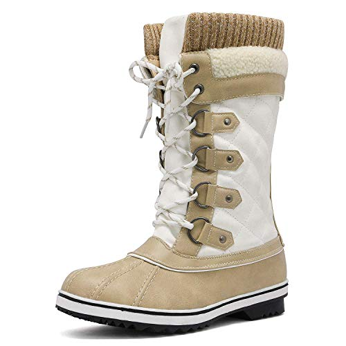 DREAM PAIRS Women's Winter Snow Boots