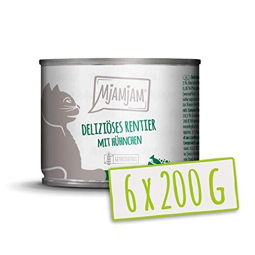 MjAMjAM deliziöses Rentier mit Hühnchen an leckeren Möhrchen 6x200 g, 1er Pack (1 x 1200 g)