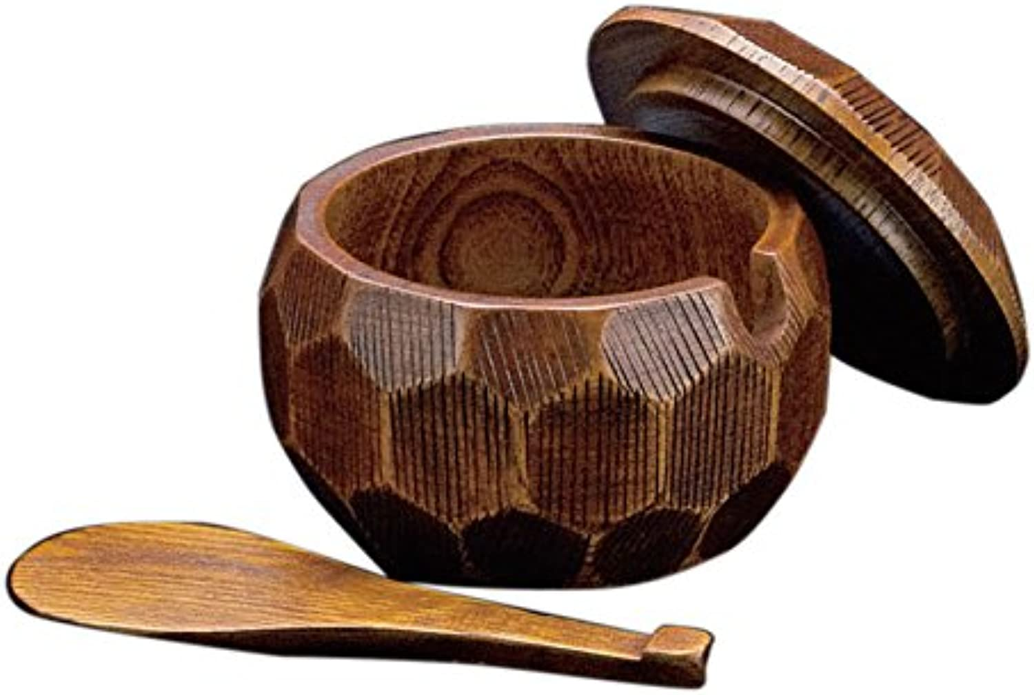 Yamako sliding lacquer wooden rice charger set (with lid) in 25 892 (Japan import   The package and the manual are written in Japanese)