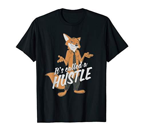Disney Zootopia Nick Wilde It's Called Hustle T-Shirt