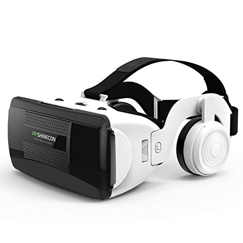 For Sale! IOIOA Virtual Reality Glasses, 3D Virtual Reality VR Glasses Headset with HiFi Headset for...